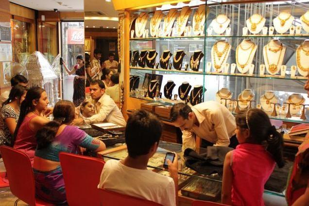 Achat d'or en Inde