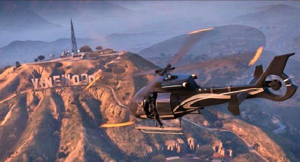 Hélicoptère dans GTA V