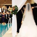 Préparer une salle de mariage grandiose