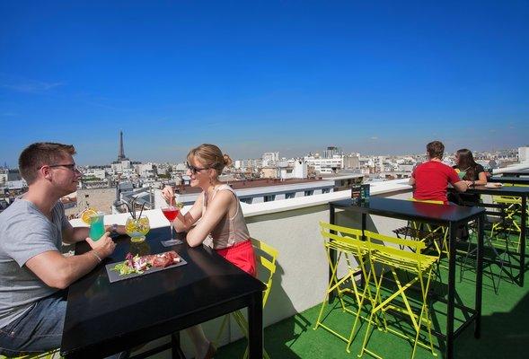 Terrasse à Paris
