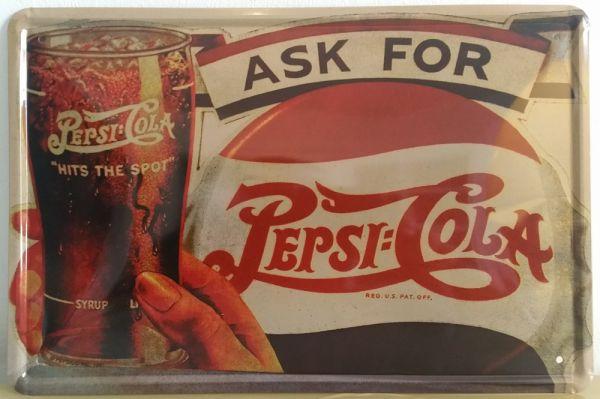 Plaque Pepsi