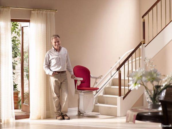 Mon avis sur les fauteuils monte escalier Stannah