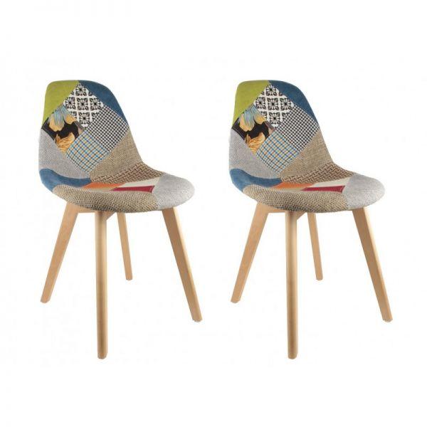 L'originalité de la chaise Patchwork