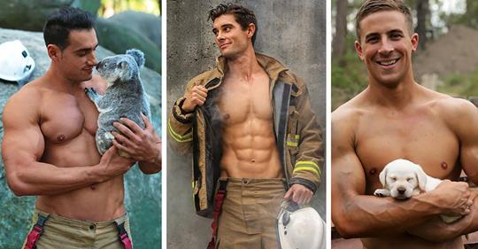 Calendrier des pompiers australiens
