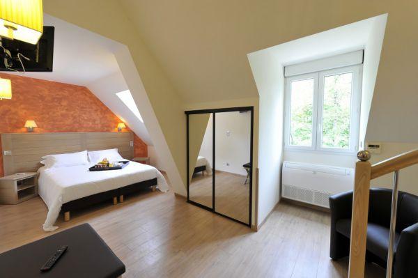 Une chambre conçue pour deux personnes